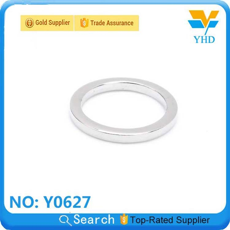Fashion metal opened oval spring rings,round spring ring