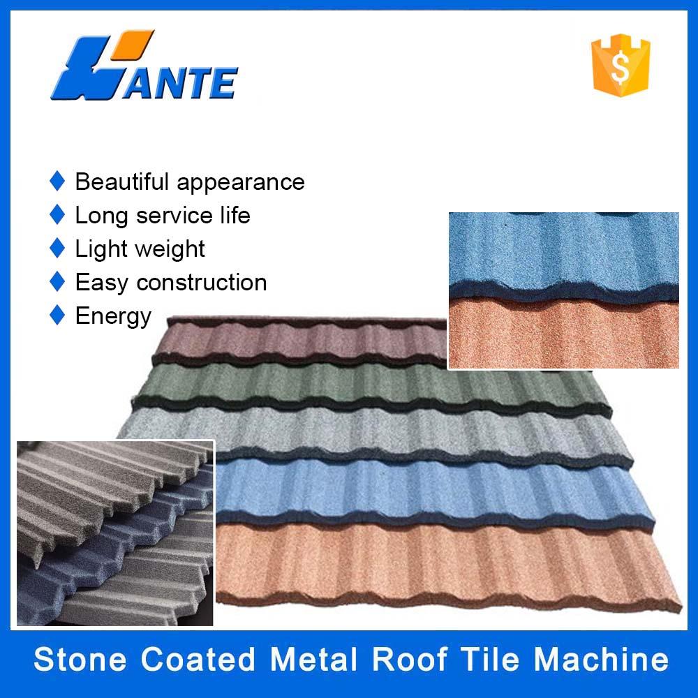 Steel Tile Metal Roof Tile Stone Coated Steel Roof Tile