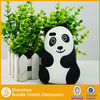 fashion panda design silicone phone case for iphone 5