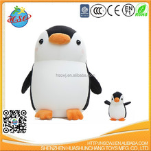 spandex fabric penguin plush toy