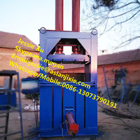 Hydraulic carton compress baler machine/cardboard baling press machine/waste paper baling baler machine