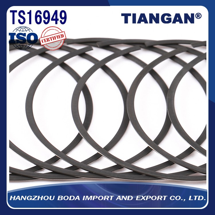 Chinese hot-selling Lron and Steel motorcycle piston ring