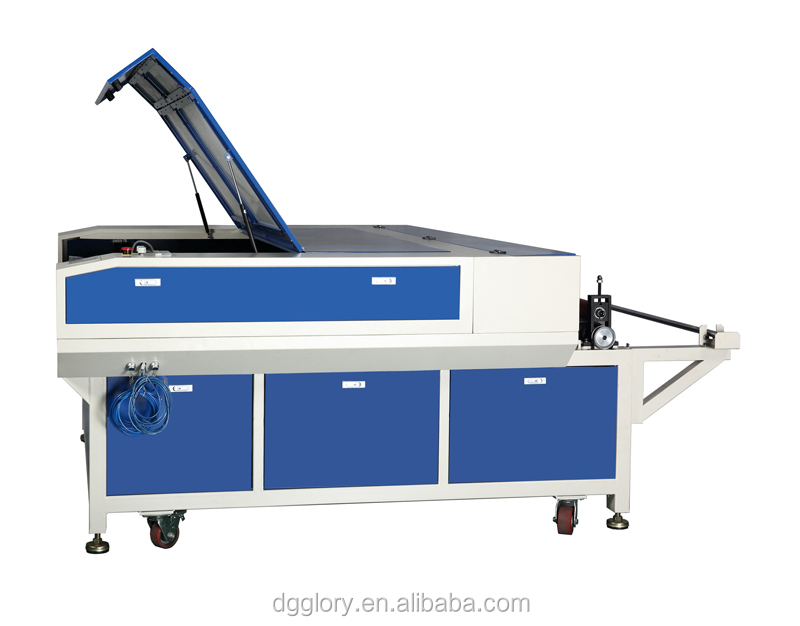 garment industry 275w galvo 1600*1000mm laser cutting machine for fabric