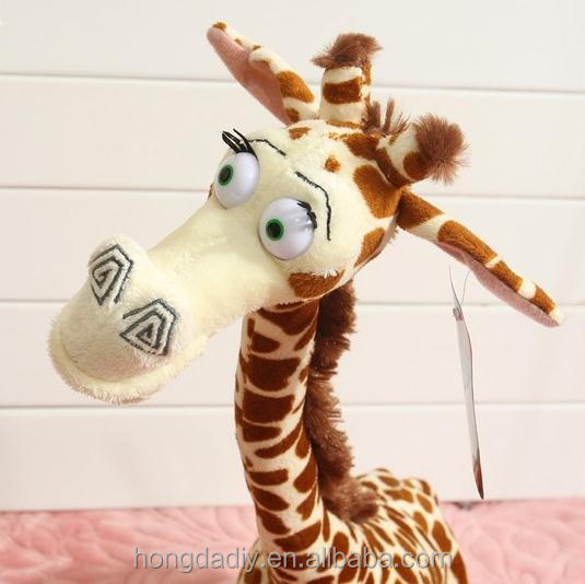 Hot sale giant vintage cute stuffed giraffe animal plush big toys