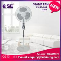 New design 16 inch stand fan with lamp without drop test