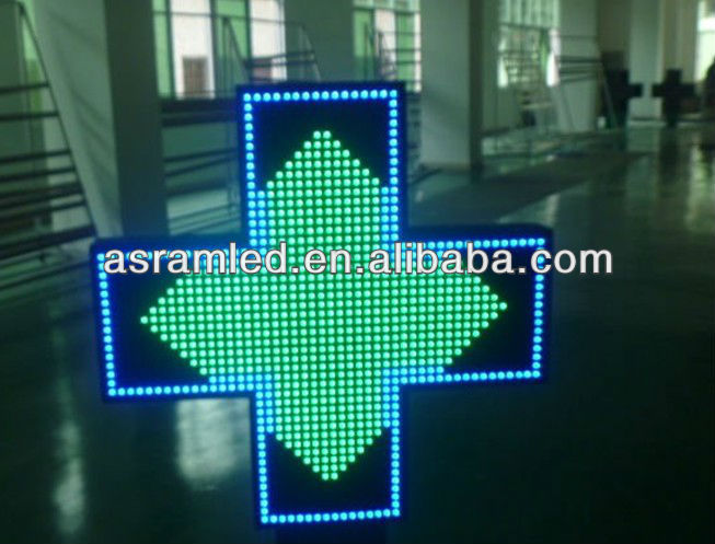 wholesale alibaba china outdoor 3d two sides 80cm double sided outdoor led open sign