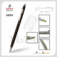 metal machinery logo ballpoint pen 6803