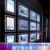 2017 Christmas Cable Frameless Real Estate Agent Light Signs Window Led Display