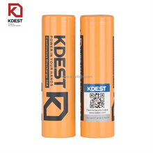 Factory Price Kdest 18650 3100mah lithium ion rechargeable 18650 battery with 50A Max Discharge