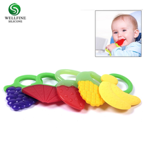 Wholesale Custom Pendant Corner Teething Toy, Silicone Baby Teether for 3 to 12 Months Babies, Infant, Toddler