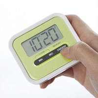 high quality battery operated digital kitchen timer with magnet Countdown alarm function