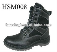 2012 hot sale high cut durable winter military boots in fur lined