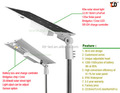 Patent product 60W integrated solar street light in shenzhen
