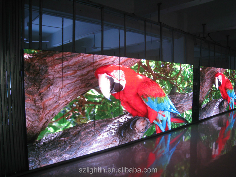 P4 P6 P8 P10 transparent glass LED Full Color video indoor Display/led video screen