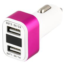 wholesale mobile phone accessories dual usb Smart phone/ Tablet/Ebook/ MP3/ MP4/ GPS/ USB Devices etc car charger