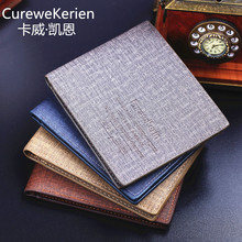 STOCK Factory wholesale business Curewe Kerien Men short <strong>wallet</strong> business casual purse gift <strong>wallets</strong>