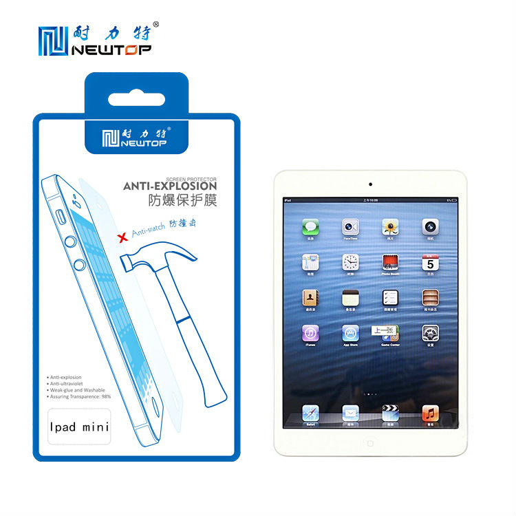 Touch screen film for ipad mini , screen protector,screen guard