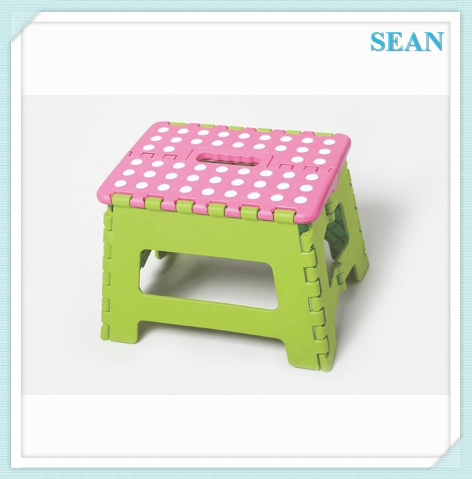 High quality plastic cheap kitchen stools with non-slip mat ningbo sean