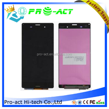 Best quality Screen Digitizer Assembly Lens For Sony Xperia Z3 D6603 D6643 W/Frame, for sony z3 lcd screen