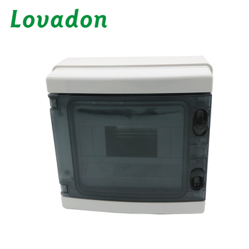 Cover Push-type Opening and Closing ABS PC Material IP65 Waterproof Distribution Box For Circuit Breaker