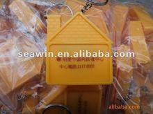 1M measuring tape key chain--house shape,gift tape measure
