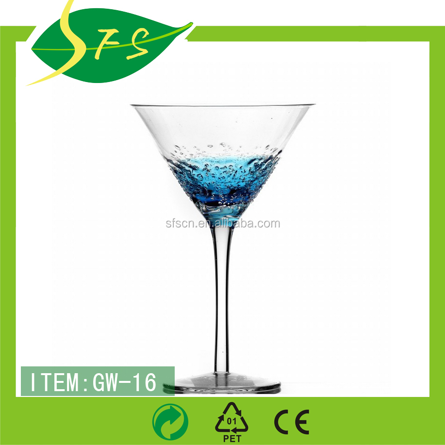 lead free crystal glass stemware / goblet glassware/ red wine goblet wholesale