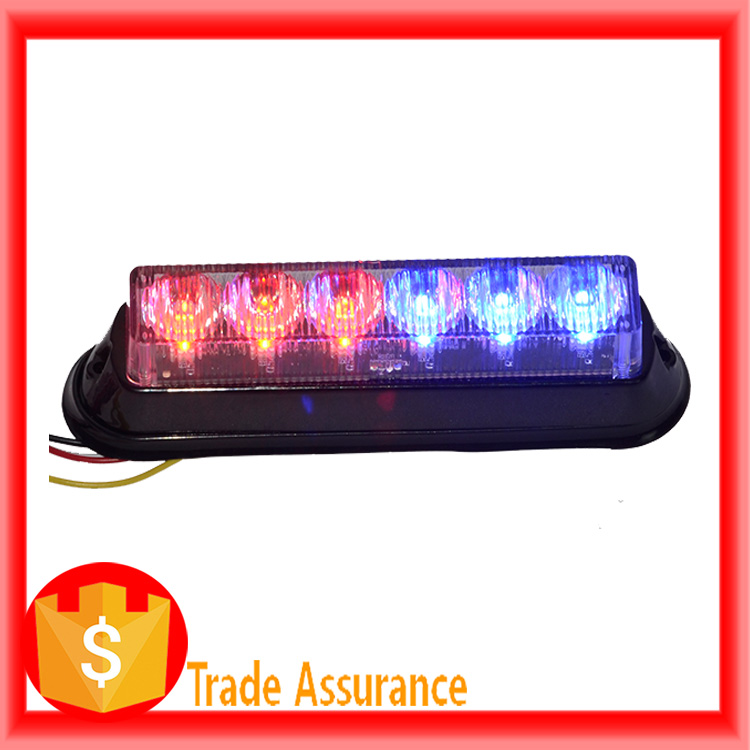 High quality red strobe warning light truck 12v for emergency car