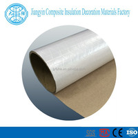 Fire resistant WPSK paper roof heat insulation materials