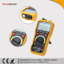 Auto Range 5 in 1 Digital Multimeter with Thermometer Humidity Sound Level Lux Test MS8229