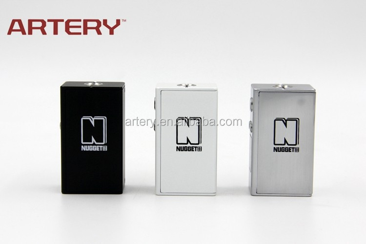 Hot Selling box mod 50w Nugget V2.0 vaping device from Artery