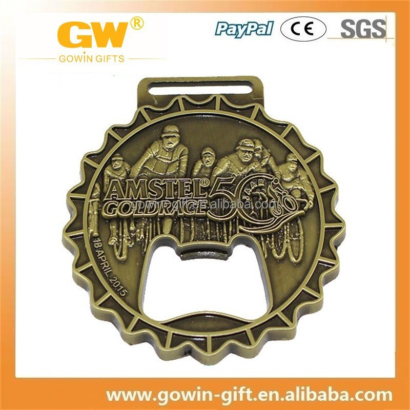 custom bottle opener medal
