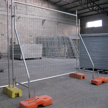 Hot Dipped GalvanisedTemporary Construction Chain Link Fence/6'X12' Temporary construct segregation chain link fence