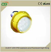 DL601F 20W IP65 explosion proof fluorescent light fitting