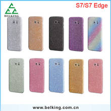 Diamond Screen protector For Galaxy S7 Glitter skin Sticker for Galaxy S7 S7 Edge