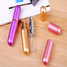 9ml Travel Empty Refillable Creative Perfume Atomizer Bottle Scent Spray Case
