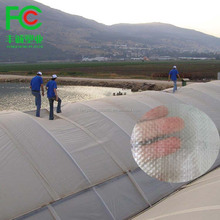 UV stabilized agricultural greenhouse polyethylene strong Polyweave fabric film /transparent woven fabric greenhouse film