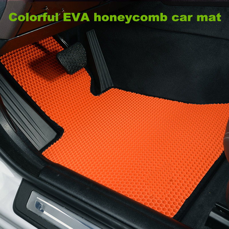 Newest Design Washable Colorful Eva Honeycomb 2d Car Floor