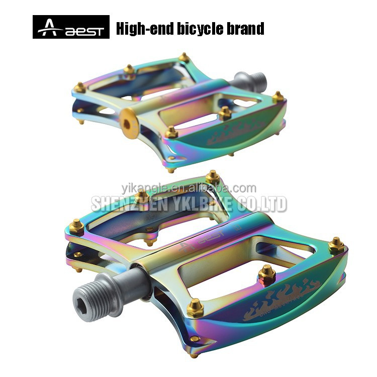 YKLBIKE professional pedal factory bicycle oil slick pedals