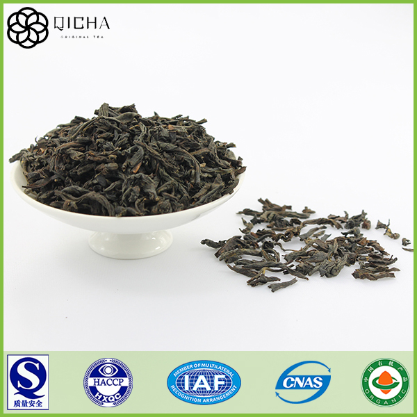black slimming tea with placenta extract for health and beauty care