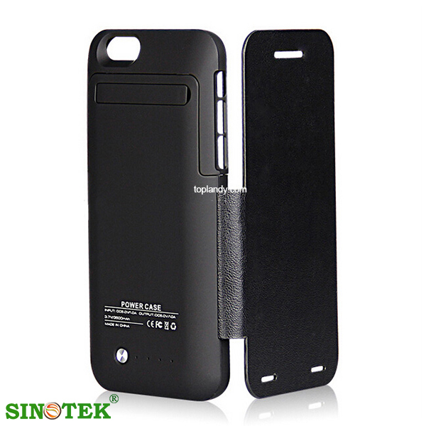 SINOTEK 2015 newest with leather/ without leather external battery portable power bank for iphone 6 ,4.7""