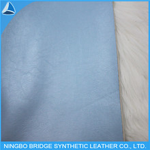 0.4mm Woven Back New Design Garment Leather