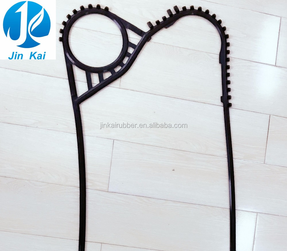 Food grade APV R145 rubber gaket seals for plate heat exchanger by heat resistant gasket material