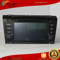 Best Auto Radio Caska For Mazda 3 Car Dvd Navigation With 3G Host Radio GPS RDS Bt TV 1080P Ipod