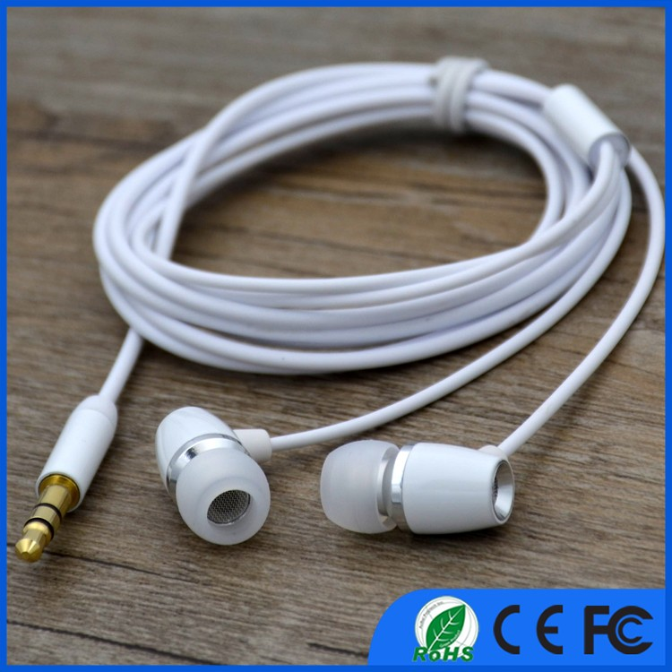 Hot Selling Colored OEM Earbud Sport Stereo Earphone for MP3 MP4 Player
