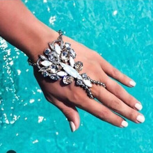 Hot Style Fashion Bracelet Wedding Barefoot Sandals Beach Foot Jewelry Sexy Pie Leg Chain Female Boho Crystal Bracelets