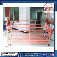 ZLP400 hanging low cost aluminum window wall clearning ISO scaffolding hammers
