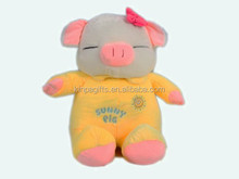 High quality cute plush toy pig