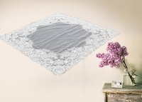 New design embroidery lace decoration table cloth