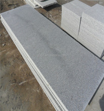 Qingdao port Saw Pearl flower granite 60*40*2 for Stair steps