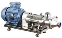 stainless steel sanitary twin screw pump for chilli sauce transfer with ce certificate